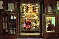 Monks in monaserty in Sagain, Burma, 2005