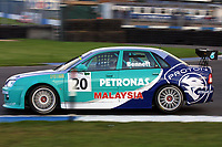 Round 10 of the 2002 British Touring Car Championship. #20 Phil Bennett (GBR). Petronas Syntium Proton. Proton Impian.