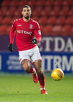 Leon Best of Charlton Athletic in action during the Sky Bet League 1 match between Charlton Athletic and Peterborough at The Valley, London, England on 28 November 2017. Photo by Vince  Mignott / PRiME Media Images.