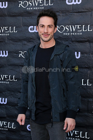 "WEST HOLLYWOOD, CA - JANUARY 10:  Michael Trevino at the ""Roswell, New Mexico"" Experience at the 8801 Sunset Blvd on January 10, 2019 in West Hollywood, CA Credit: David Edwards/MediaPunch"