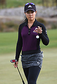 28th September 2017, Windross Farm, Auckland, New Zealand; LPGA McKayson NZ Womens Open, first round;  USA's Danielle Kang