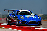 Porsche GT3 Cup Challenge USA<br /> Advance Auto Parts SportsCar Showdown<br /> Circuit of The Americas, Austin, TX USA<br /> Saturday 6 May 2017<br /> 47, Andrew Longe, GT3P, USA, 2017 Porsche 991<br /> World Copyright: Jake Galstad<br /> LAT Images
