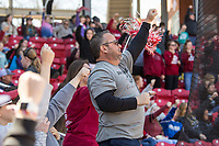 NWA Democrat-Gazette/BEN GOFF @NWABENGOFF<br /> Arkansas vs South Carolina Sunday, March 17, 2019, at Bogle Park in Fayetteville.