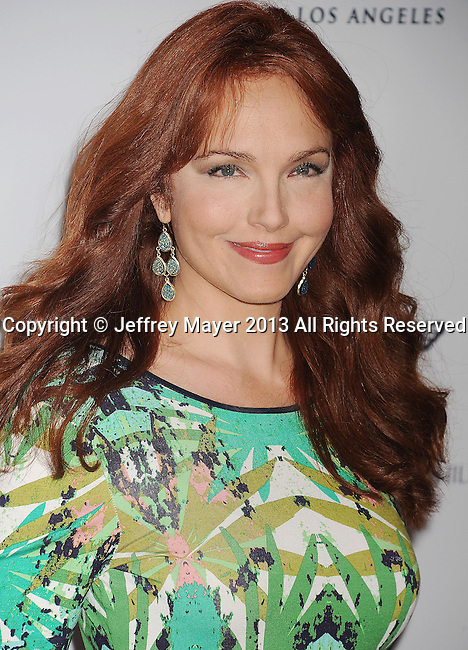 CENTURY CITY, CA- MAY 03: Actress Amy Yasbeck arrives at the 20th Annual Race To Erase MS Gala 'Love To Erase MS' at the Hyatt Regency Century Plaza on May 3, 2013 in Century City, California.
