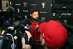08 December 2016: Toronto's Drew Moor. Toronto FC held a training session at the Kia Training Ground in Toronto, Ontario in Canada two days before playing in MLS Cup 2016.