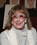 Phyllis Newman attends the William Ivey Long Sardi's portrait unveiling and 70th Birthday Party at Sardi's Restaurant on August 30, 2017 in New York City.