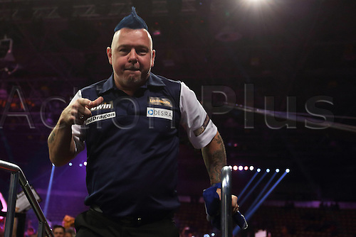 13.06.2015. Frankfurt, Germany. BWIN, PDC World Cup of Darts.  PETER WRIGHT Scotland versus Singapore.