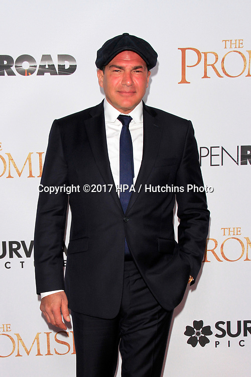 """LOS ANGELES - APR 12:  Tamer Hassan at the """"The Promise"""" Premiere at the TCL Chinese Theater IMAX on April 12, 2017 in Los Angeles, CA"""