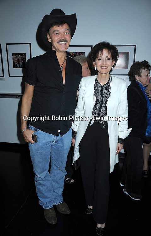 """Randy Jones and Robin Strasser at The opening night of """"White's Lies"""" on May 6, 2010 at New World Stages in New York City. The show stars Betty Buckley, Tuc Watkins, Peter Scolari and Christy Carlson Romano."""
