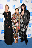 Amber Le Bon, Maria Hatzistefanis and Erin O'Connor<br /> at The Unicef UK Halloween Ball at One Embankment is raising vital funds to support Unicef's life-saving work for Syrian children in danger. To help Unicef keep children safe and warm this winter visit unicef.org.uk/halloweenball <br /> <br /> <br /> ©Ash Knotek  D3178  13/10/2016