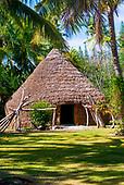 Lifou, case traditionnelle