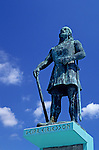 Statue of Leif Ericksson at Shilshole Marina