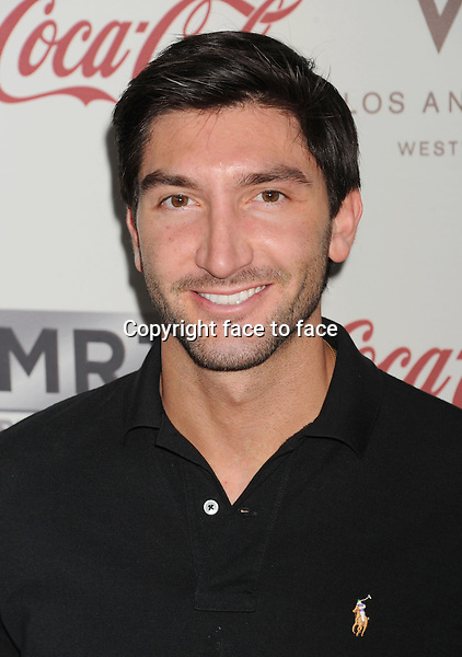 Evan Lysacek attends the Gold Meets Gold Event, held at the Equinox Sports Club Flagship West Los Angeles location on Saturday, January 12, 2013 in Los Angeles, California...Credit: Mayer/face to face - No Rights for USA and Canada -