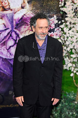LONDON, ENGLAND - MAY 10: Tim Burton attending the 'Alice Through The Looking Glass' European Premiere at Odeon Cinema, Leicester Square in London. on May 10, 2016 in London, England.<br /> CAP/MAR<br /> &copy; Martin Harris/Capital Pictures /MediaPunch ***NORTH AND SOUTH AMERICA ONLY***
