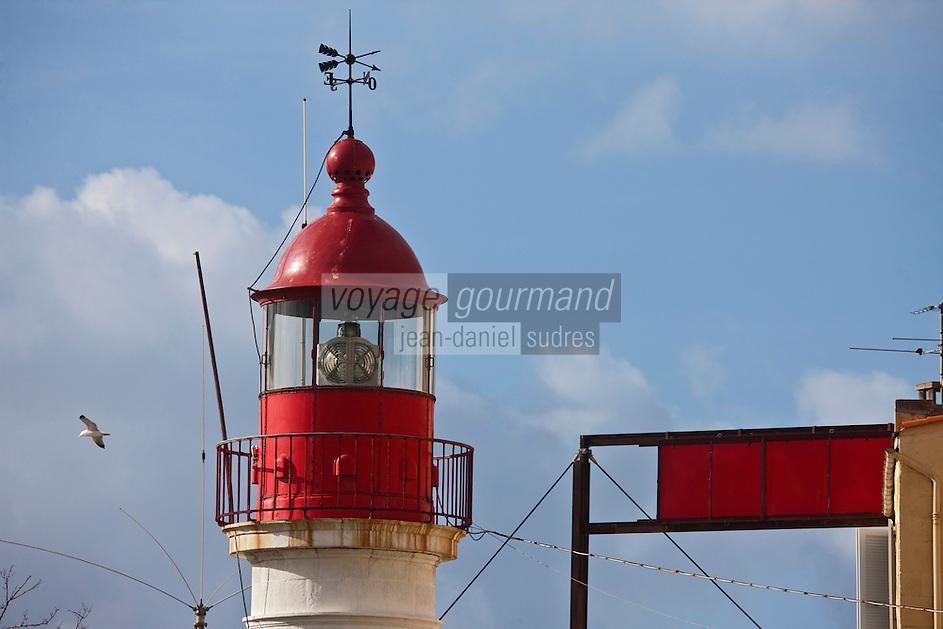 Europe/France/2A/Corse du Sud/Ajaccio: Sémaphore et Phare du Port de pêche