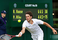 21-06-11, Tennis, England, Wimbledon, Robin Haase  Serena Williams