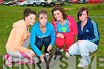 Athea Vintage Rally : Attending Athea Vintage Rally on Sunday last were Amy Griffin, Tara Flavin with Pixie,  Claire O'Sullivan & Katie Connor.