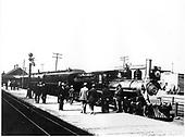 D&amp;RG locomotive #168 at Salida.<br /> D&amp;RG  Salida, CO