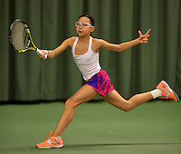 March 8, 2015, Netherlands, Rotterdam, TC Victoria, NOJK, Gigi Sy-A-Foek (NED)<br /> Photo: Tennisimages/Henk Koster