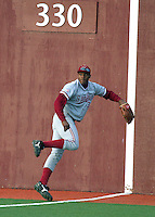 PULLMAN, WA-April 2, 2011:  Stanford outfielder Austin Wilson in a game against Washington State University in Pullman, Washington.  Stanford won the game 22-3.