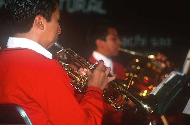 Musician, Oaxaca City, Oaxaca, Mexico
