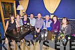 Jimmy O'Sullivan was joined by family and friends for his 50th birthday at the Ring of Kerry Hotel in Cahersiveen on Saturday pictured l-r; Ro?isi?n O'Sullivan, Mary Sheehan, Anne O'Sullivan, John Sheehan, Jimmy, Dan, Helen & Mary C. O'Sullivan.