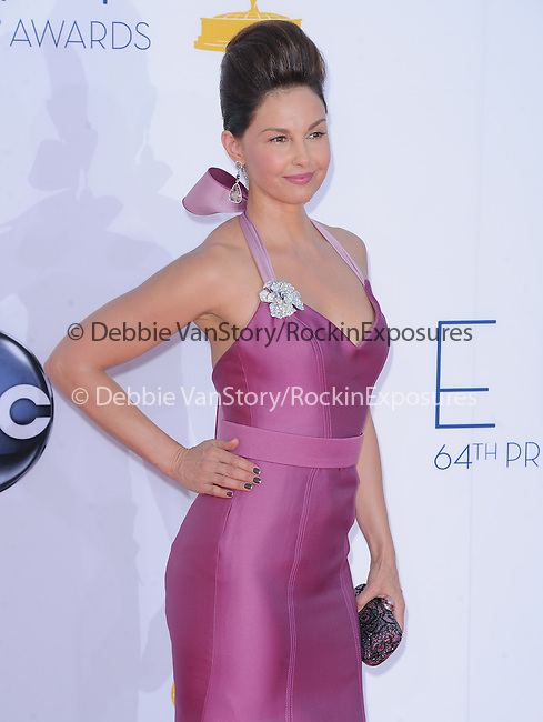 Ashley Judd at The 64th Anual Primetime Emmy Awards held at Nokia Theatre L.A. Live in Los Angeles, California on September  23,2012                                                                   Copyright 2012 Hollywood Press Agency