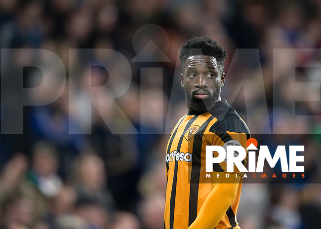 Nouha Dicko of Hull City during the FA Cup 5th round match between Chelsea and Hull City at Stamford Bridge, London, England on 16 February 2018. Photo by Vince  Mignott / PRiME Media Images.