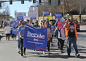 Bernie Sanders march 2/27/16