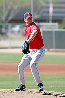 David Carpenter, Los Angeles Angels 2010 minor league spring training..Photo by:  Bill Mitchell/Four Seam Images.
