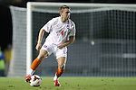 08 October 2013: Clemson's Jack Metcalf (ENG). The University of North Carolina Tar Heels hosted the Clemson University Tigers at Fetzer Field in Chapel Hill, NC in a 2013 NCAA Division I Men's Soccer match. Clemson won the game 2-1 in overtime.