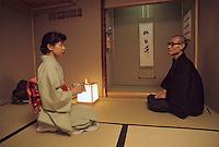 Asie/Japon/Nara: La cérémonie du thé