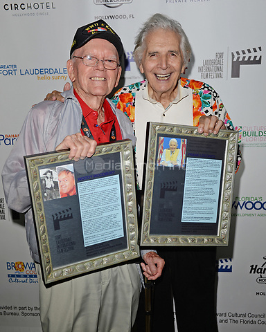 FORT LAUDERDALE FL - NOVEMBER 07: Frank Loconto and Woody Woodbury attend The Fort Lauderdale International Film Festival's screening of Where The Boys Are held at the Westin Fort Lauderdale Beach Resort on November 7, 2018 in Fort Lauderdale, Florida. Credit: mpi04/MediaPunch