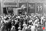 Ringling Bros., Barnum & Bailey Circus side-shows drew lots of people to Waterbury during the 1930s.