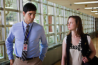 David Rogers and Thora Birch in the Lifetime Television Original Movie 'The Pregnancy Pact,' loosely based on the 2008 Gloucester High School case.