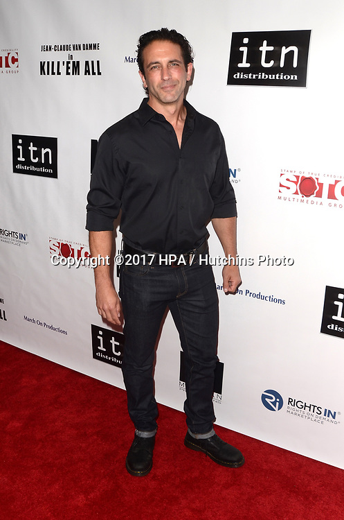 "LOS ANGELES - JUN 6:  Mark Sherman at the ""Kill 'Em All"" Premiere at the Harmony Gold Theater on June 6, 2017 in Los Angeles, CA"