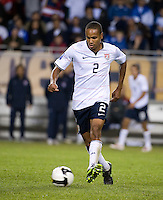 Ricardo Clark. The USA defeated Honduras, 2-1, in a World Cup qualifying match at Soldier Field in Chicago, IL on June 6, 2009.