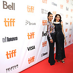 Halle Berry and Deniz Gamze Erguven attend the 'Kings' premiere during the 2017 Toronto International Film Festival at Roy Thomson Hall on September 13, 2017 in Toronto, Canada.
