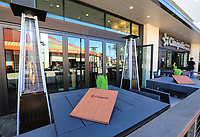 March 12, 2019. Encinitas, CA. USA| Outdoor lounging area just added to the Cinepolis Theater located in Del Mar| Photos by Jamie Scott Lytle. Copyright.