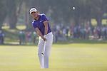 David Lipsky of USA plays an approach shot during the 58th UBS Hong Kong Golf Open as part of the European Tour on 11 December 2016, at the Hong Kong Golf Club, Fanling, Hong Kong, China. Photo by Vivek Prakash / Power Sport Images