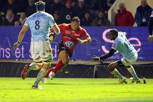 30.11.2013. Toulon, France. Top 14 rugby union. Toulon versus Perpignan.  chris masoe (rct)