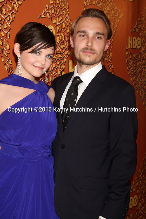 Ginnifer Goodwin & Joey Kern.arriving at the 67th Annual Golden Globe Awards Official HBO After Party.Beverly Hilton Hotel.Beverly Hills, CA.January 17, 2010.©2010 Kathy Hutchins / Hutchins Photo....