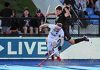 David Brydon. Pro League Hockey, Vantage Blacksticks v Germany. Nga Puna Wai Hockey Stadium, Christchurch, New Zealand. Friday 15th February 2019. Photo: Simon Watts/Hockey NZ