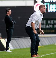 Oxford United Manager Karl Robinson looks on from the touchline<br /> <br /> Photographer David Shipman/CameraSport<br /> <br /> The EFL Sky Bet League One - Oxford United v Fleetwood Town - Saturday August 11th 2018 - Kassam Stadium - Oxford<br /> <br /> World Copyright &copy; 2018 CameraSport. All rights reserved. 43 Linden Ave. Countesthorpe. Leicester. England. LE8 5PG - Tel: +44 (0) 116 277 4147 - admin@camerasport.com - www.camerasport.com