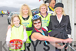 FUN CYCLE: Enjoying the Kingdom Care Charity Shop Cycle at Tralee Mart on Saturday l-r: Clodagh and Lily Kirby, Ray O'Sullivan, Hannah O'Flaherty and Mary O'Sullivan.