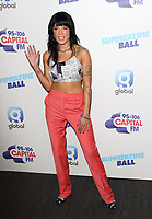 Halsey at the Capital FM Summertime Ball at Wembley Stadium, London on June 8th 2019<br /> CAP/ROS<br /> ©ROS/Capital Pictures