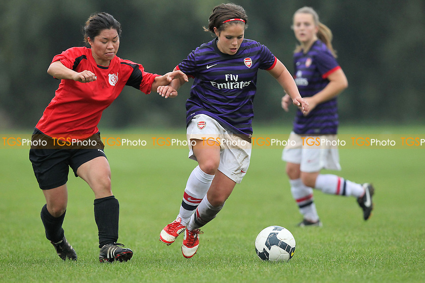 Hackney Women vs Arsenal Ladies Reserves - London FA Senior Womens Cup 1st Round at South Marsh, Hackney Marshes - 21/10/12 - MANDATORY CREDIT: Gavin Ellis/TGSPHOTO - Self billing applies where appropriate - 0845 094 6026 - contact@tgsphoto.co.uk - NO UNPAID USE.