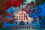 Cochise County Courthouse, Bisbee, Arizona (Infrared)
