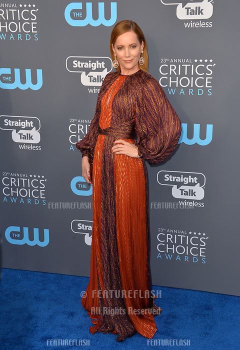 Leslie Mann at the 23rd Annual Critics' Choice Awards at Barker Hangar, Santa Monica, USA 11 Jan. 2018<br /> Picture: Paul Smith/Featureflash/SilverHub 0208 004 5359 sales@silverhubmedia.com