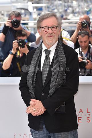 Steven Spielberg at 'The BFG' photocall  at the 69th International Cannes Film Festival, France<br /> May 14, 2016<br /> CAP/PL<br /> &copy;Phil Loftus/Capital Pictures / MediaPunch ***North American &amp; South American Rights Only***